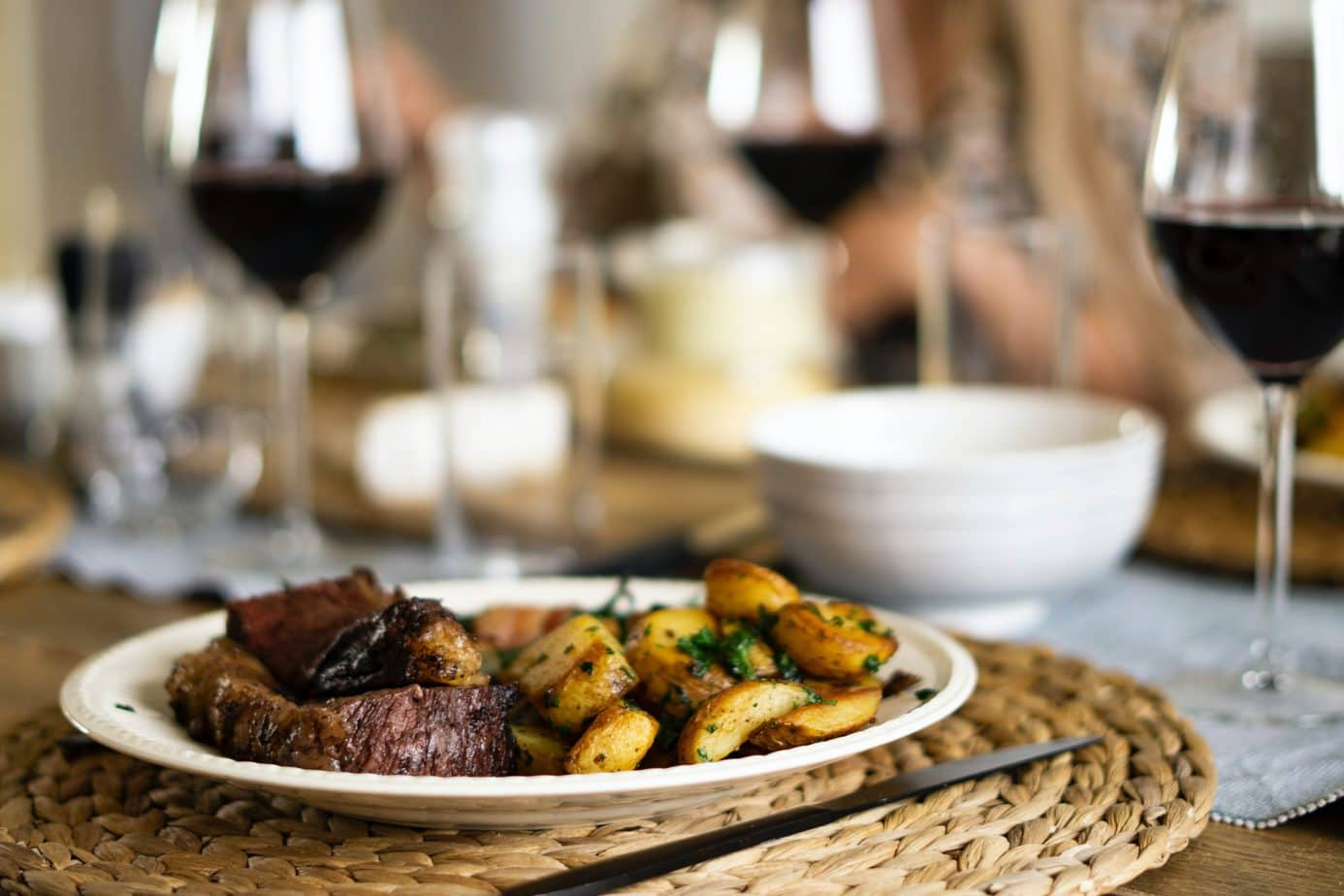 Prime rib with wine pair - featured image