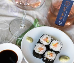 wine pair for sushi