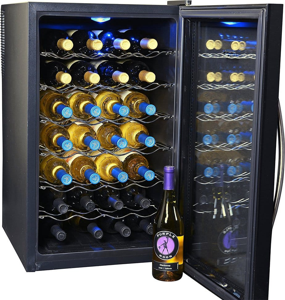 thermoelectric wine cooler - featured image