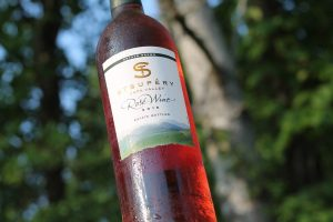 Rose wine from Napa