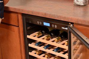 under counter wine chiller