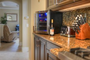 thermoelectric countertop wine cooler