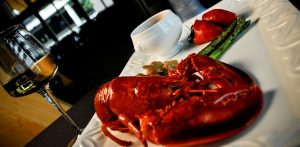 lobster and wine - featured image